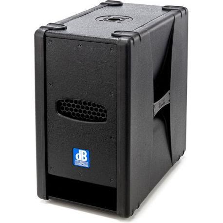 dB Technologies Sub 28D subwoofer activo de 2x8 pulgadas y 800W