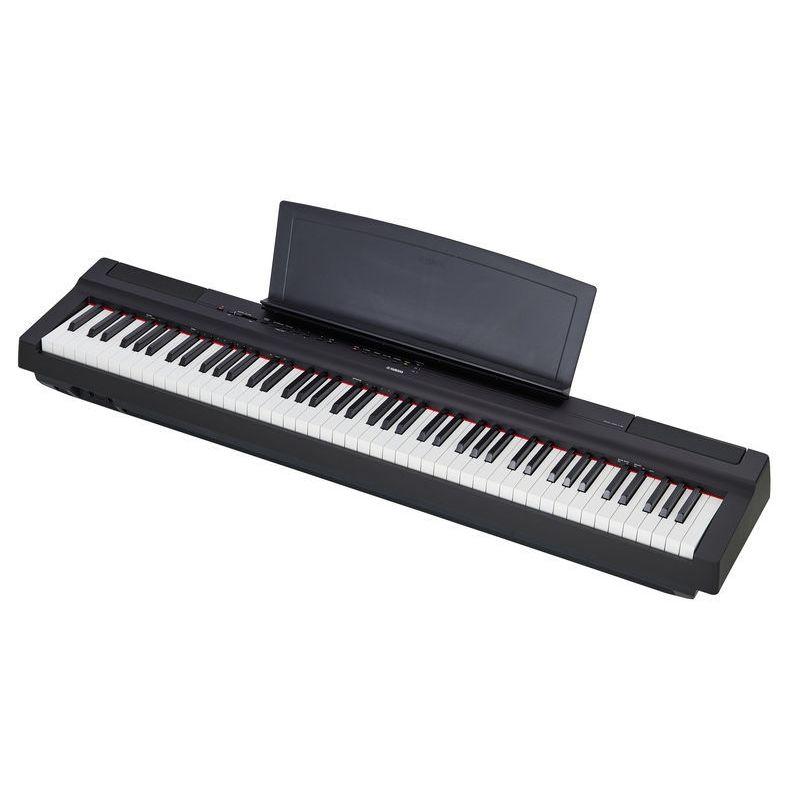 yamaha p 125b piano yamaha digital 88 teclas hipermusic. Black Bedroom Furniture Sets. Home Design Ideas