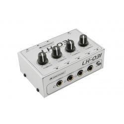 OMNITRONIC LH-031 AMPLIFICADOR 4 CANALES