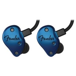 FENDER FXA2 AURICULAR IN EAR BLUE 16 OHM 6 - 23 000 HZ 112 DB