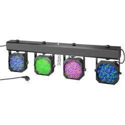 CAMEO CLMPAR1 PROYECTOR LED RGB SET 4 PC 10MM +ESTUCHE