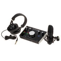 MTRACK2X2VOCAL INTERFACE M AUDIO SET MTRACK 2X2 +MICROFONO NOVA, AURICULAR