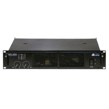 dB Technologies HPA 1400 etapa de potencia profesional