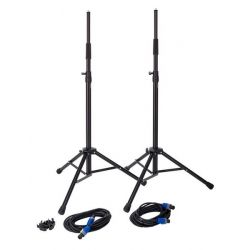 HK AUDIO STEREO STAND ADD ON NANO 300 SOPORTES +CABLES+FUNDA