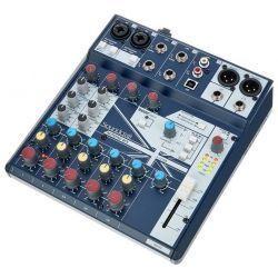 SOUNDCRAFT NOTEPAD-8FX MESA MEZCLAS 2 MIC 3 LINE ST USB EFECTO