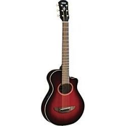 GUITARRA ELEC.ACUS.YAMAHA DARK RED