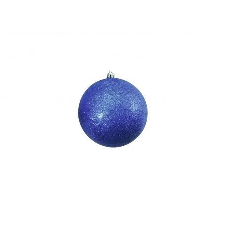 EUROPALMS DECO BALL 10 CM AZUL PACK 4 PC
