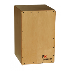 EK CR3 CAJON RUMBERO PERCUCION ABEDUL ARCE NATURAL SATINADO
