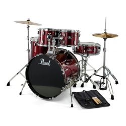 PEARL RS525SC-C91 BATERIA ROADSHOW 5 P RED WINE HH14 CRAS 16