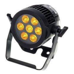 AMERICAN DJ 7P HEX IP PARCAN LED RGBWA +UV 7 X 12W IP65 DMX