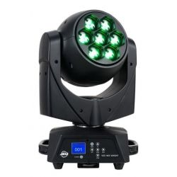 AMERICAN DJ CABEZA MOVIL WASH 105 WATIOS RGBWA +UV ZOOM Y DMX
