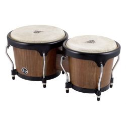 LATIN PERCUSSION LPA601-SW BONGO ASPIRE WALNUT 6 3/4 8 P NOGAL