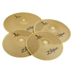 ZILDJIAN LV468 SET PLATOS L80 VOLUMEN HITHAT14,CRASH16,CRASHRIDE18
