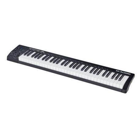 M-AUDIO KEYSTATION61MK3 TECLADOR CONTROLADOR USB MIDI 61 TECLAS