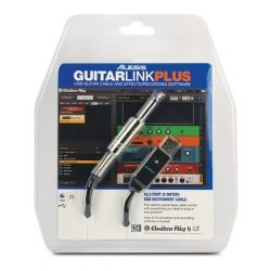 ALESIS GUITARLINK PLUS CABLE INTEFACE JACK USB SOFTWARE