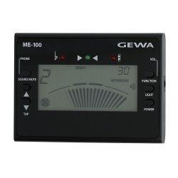 GEWA ME-100 METRONOMO DIGITAL PANTALLA LCD 30-250 BPM