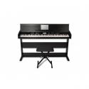 ALESIS VIRTUEAHP-1B PIANO DIGITAL 88 TECLAS 360 VOCES MUEBLE MADERA