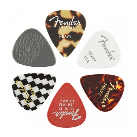 FENDER 198-0100-500 PACK PUAS 6PC 351 Material Medley Heavy