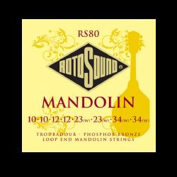 ROTOSOUND RS80 JUEGO CUERDAS MANDOLINA 8C 10 - 34