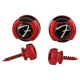 FENDER 099-0818-609 SUJETA CORREA Infinity Strap Locks Red
