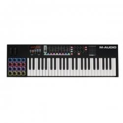 M AUDIO CODE49 BALCK CONTROLADOR USB MIDI TECLA SEMICONTRAPESADA