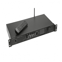OMNITRONIC DJP-900NET AMPLIFICADOR 2X460W USB BLUETOOTH RADIO INTERNET