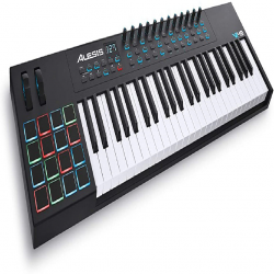 ALESIS VI49 TECLADO CONTROLADOR MIDI USB 49 TECLAS 16 PADS