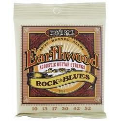 ERNIBAL EB2008 JUEGO CUERDAS ACUSTICA EARTHWOOD BZ ROCK BLUES 10-52
