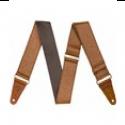 FENDER 099-6970-000 CORREA Tooled Leather Strap 106 CM 132 CM Brown