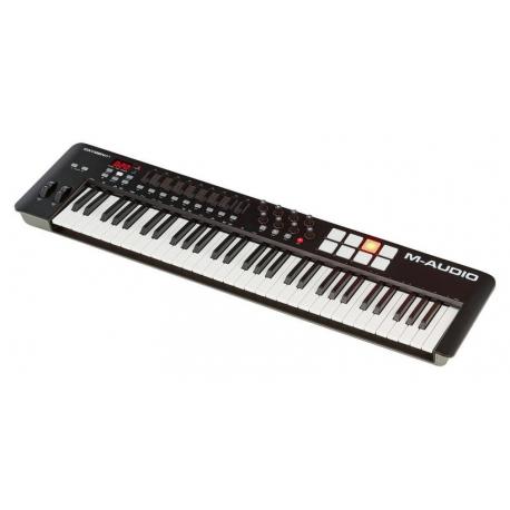 M AUDIO OXYGEN61IV TECLADO CONTROLADOR USB MIDI 61 TECLAS PADS