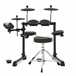 ALESIS DEBUT KIT BATERIA ELECTRICA 4 PADS 3 PLATOS PEDAL BOMBO Y HIT HAT