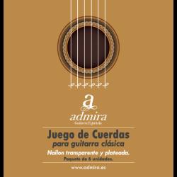 ADMIRA CA500CL JUEGO CUERDAS GUITARRA CLASICA