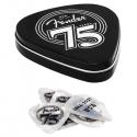 FENDER 198-0351-075 PACK PUAS 75th Anniversary Pick Tin Set