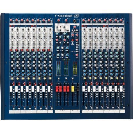 Soundcraft LX-7II 16 mesa de mezclas analógica
