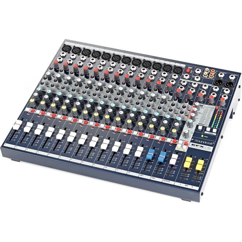 soundcraft efx12 mesa de mezclas anal gica sonido