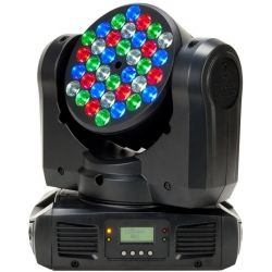 ADJ INNO COLOR BEAM CABEZA MOVIL WASH LED 108 WAT 36 X 3 W CREE