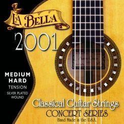 JUEGO CUERDA LA BELLA 2001M GUITARRA CLASICA PROFESIONAL