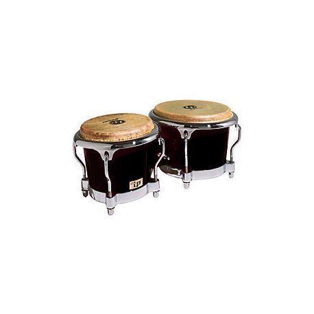 LP 200XF-BK Fibreglass Bongos