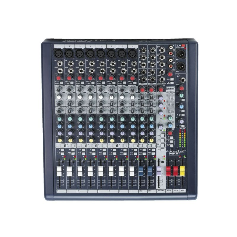 Soundcraft mfxi8 mesa de mezclas anal gica sonido for Mesa de mezclas de video