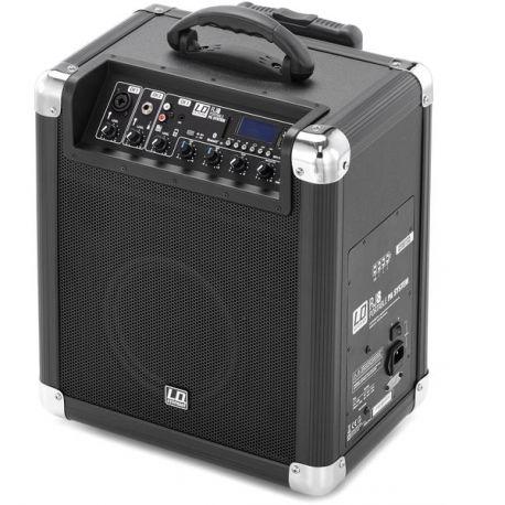 LD Systems RoadJack 8 altavoz portátil inalámbrico con Bluetooth, Usb y batería