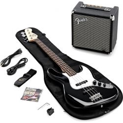 Fender Squier Affinity J-Bass Set BK