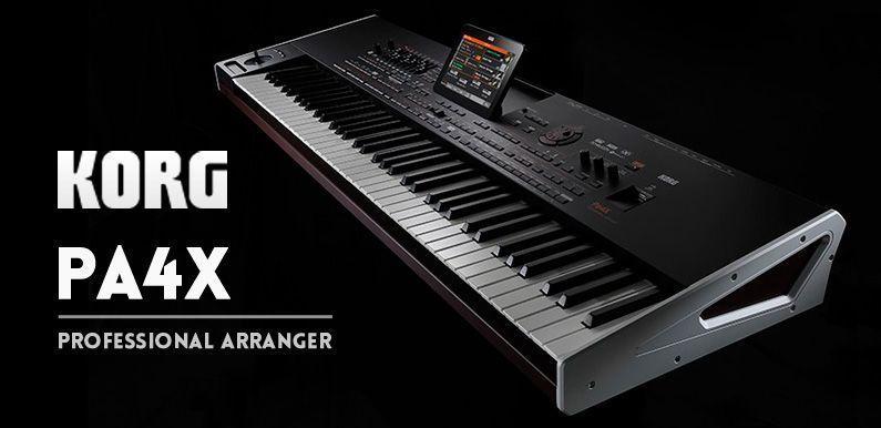 PA4X: El teclado definitivo de Korg