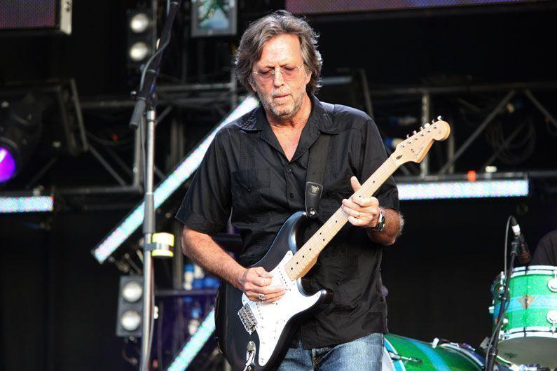 ¿Qué equipo utiliza Eric Clapton?
