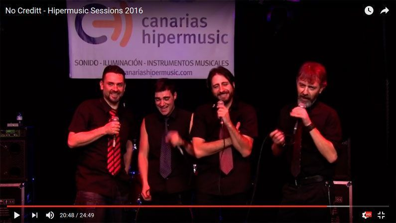 No Creditt en Hipermusic Sessions 2016